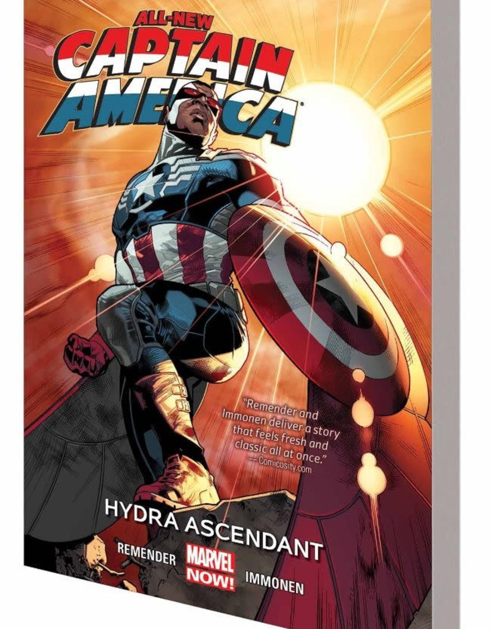 Marvel Comics All-New Captain America  Vol 01: Hydra Ascendant TP