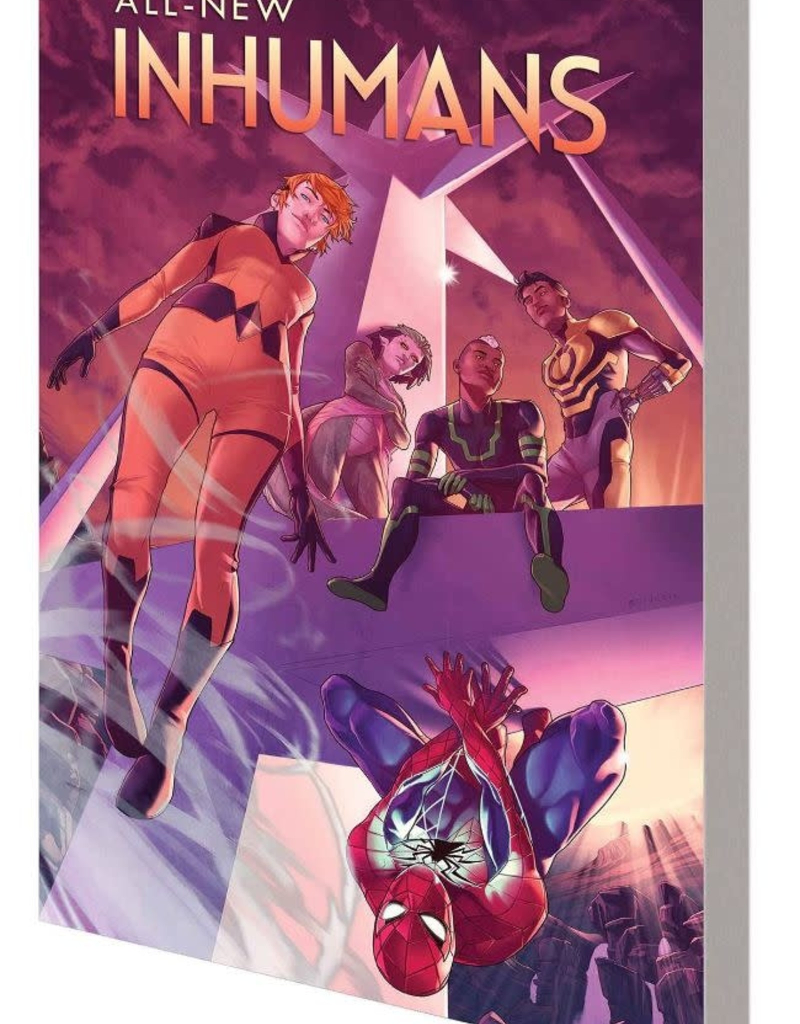 Marvel Comics All-New Inhumans Vol 02 Skyspear