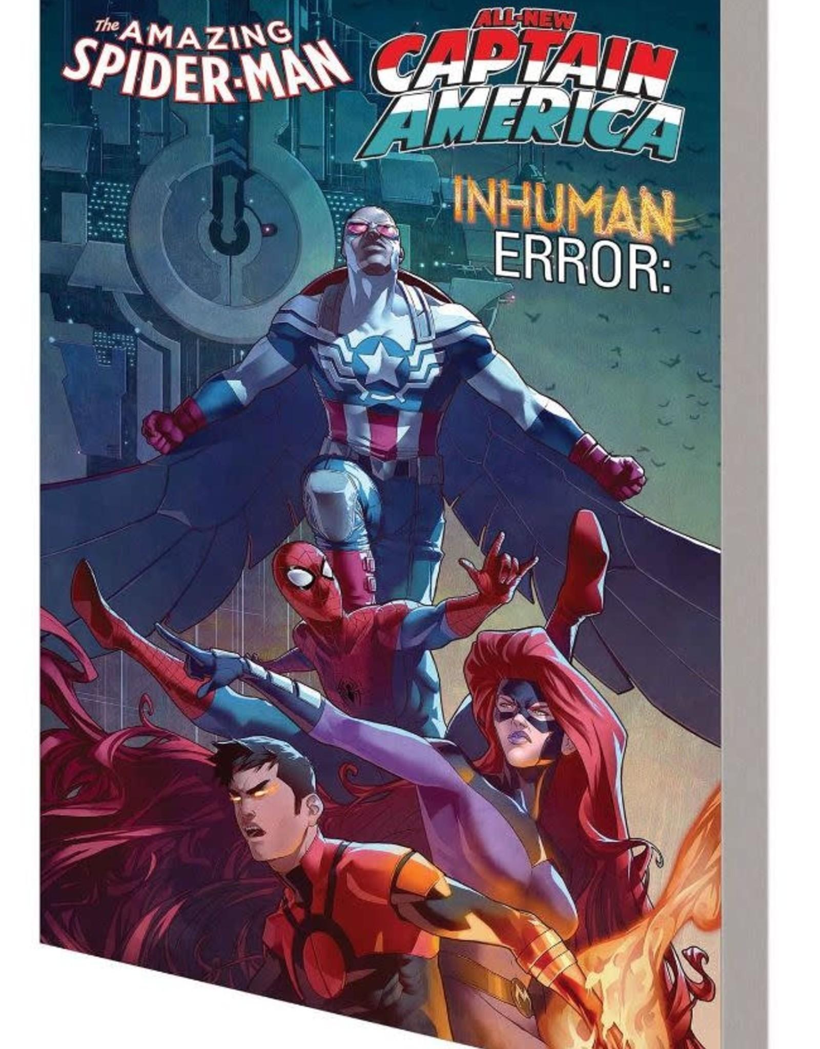 Marvel Comics Amazing Spider-Man/Inhuman/Captain America: Inhuman Error TP