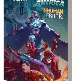 Marvel Comics Amazing Spider-Man/Inhuman/Captain America Inhuman Error