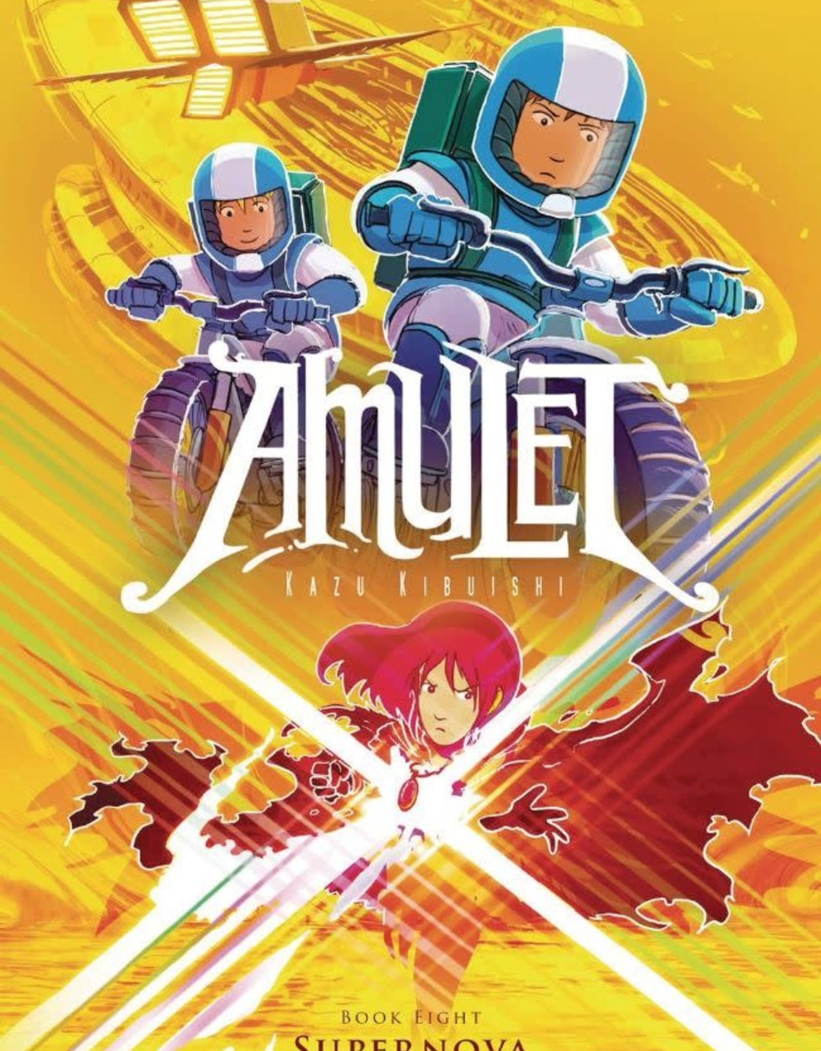 Graphix Amulet Vol 08: Supernova YR GN