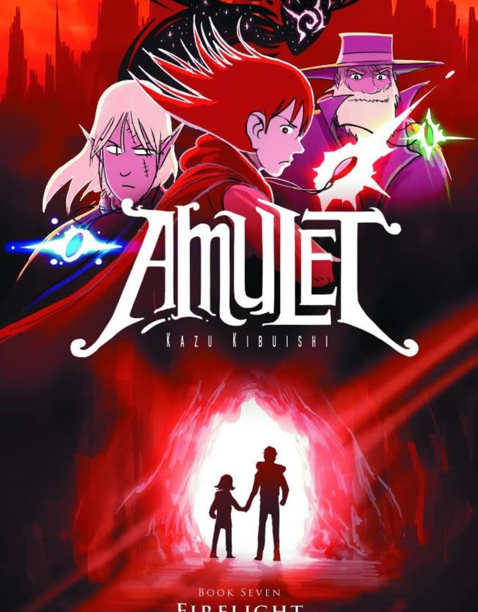Graphix Amulet Vol 07: Firelight GN
