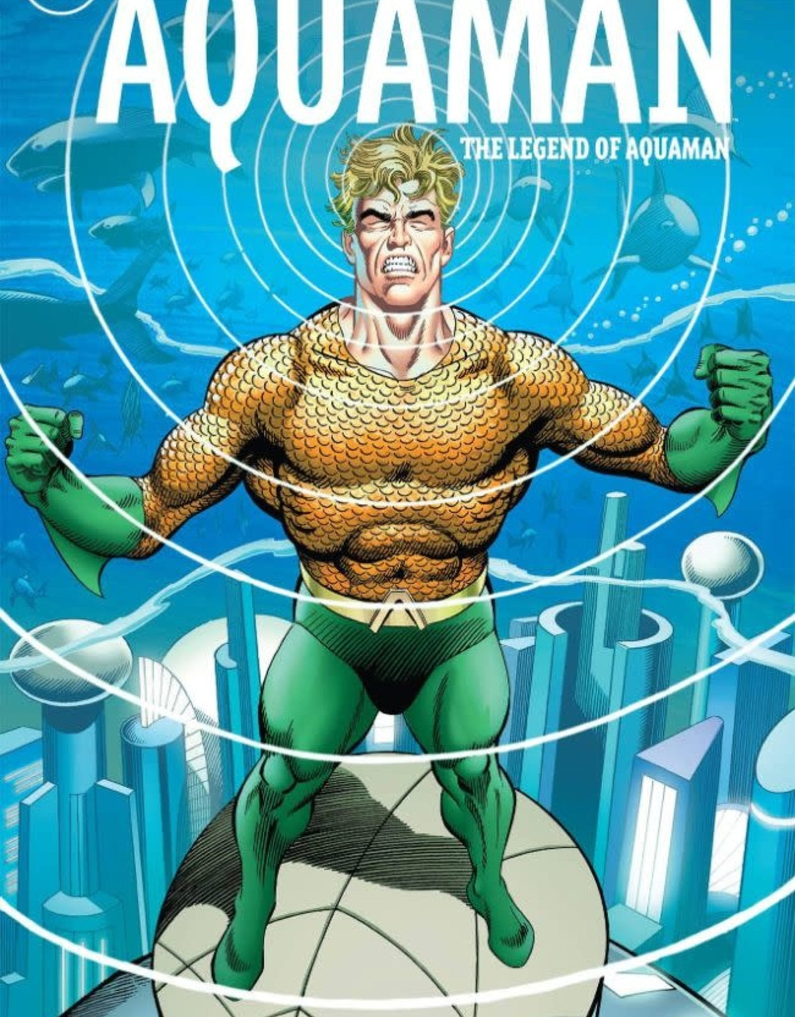 DC Comics Aquaman the Legend of Aquaman