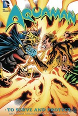 DC Comics Aquaman to Serve and Protect
