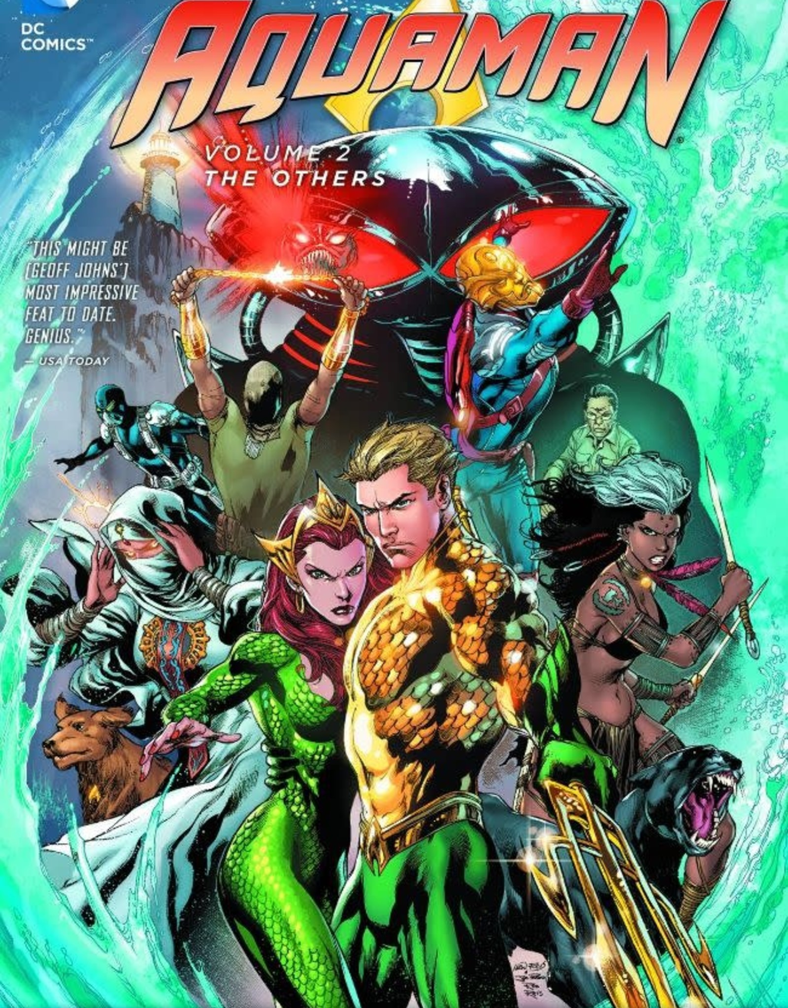 DC Comics Aquaman Vol 02 The Others
