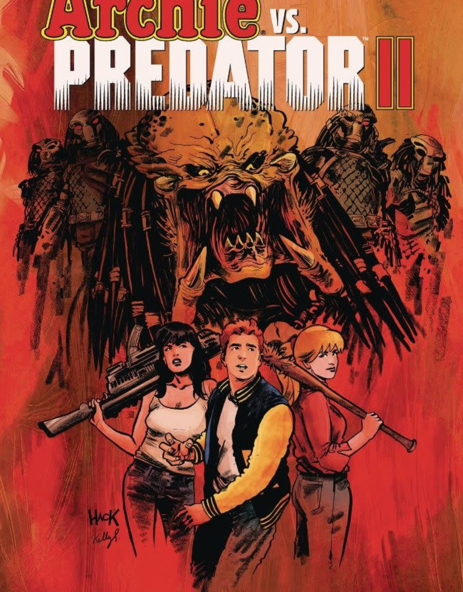 Archie Comics Archie vs. Predator II