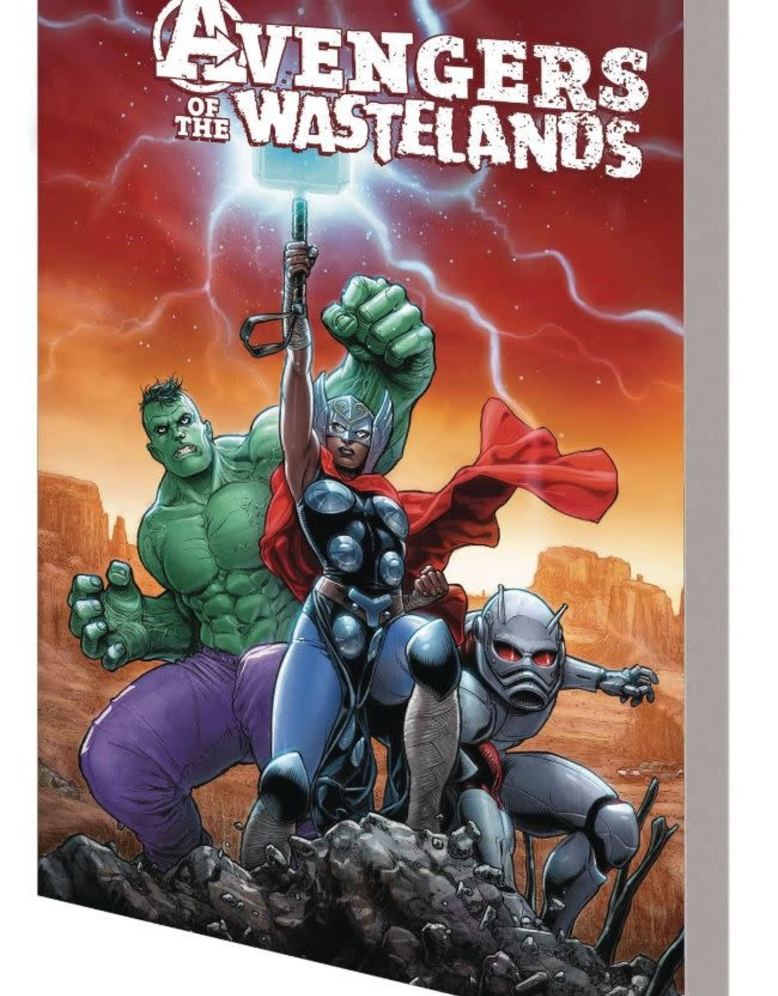 Marvel Comics Avengers Of The Wastelands TP