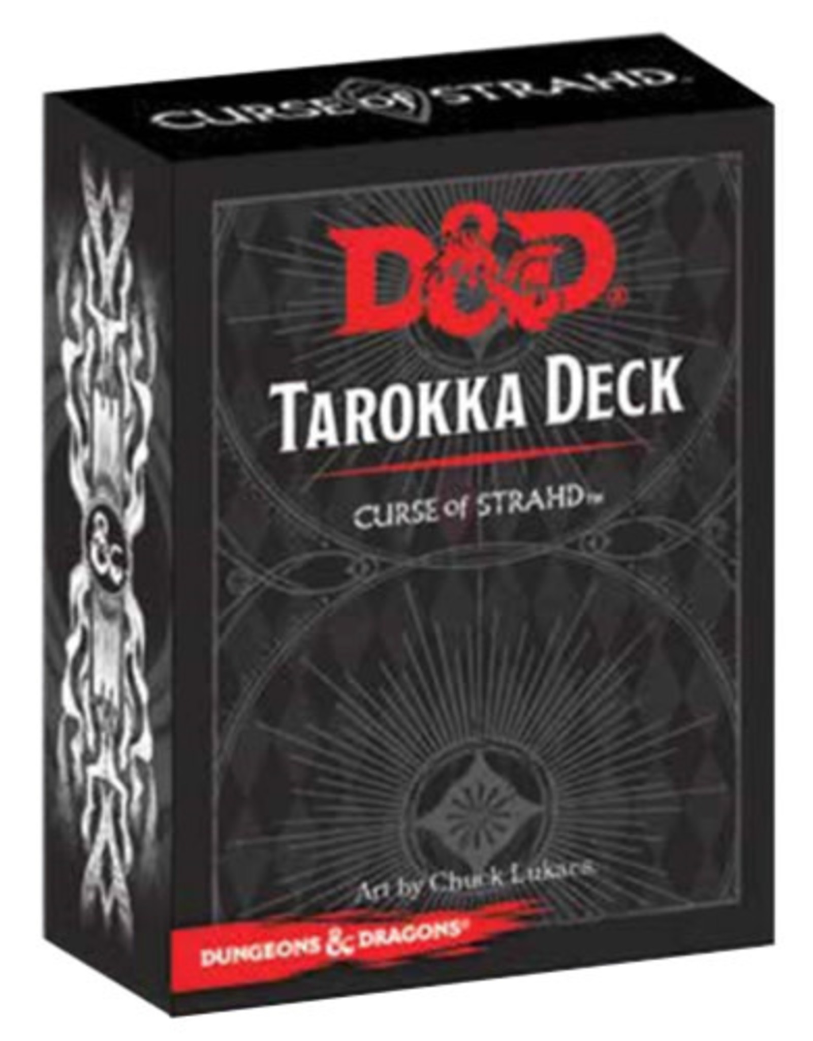 Gale Force 9 Dungeons And Dragons Next: Curse Of Strahd Tarokka Deck