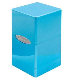 Ultra Pro Ultra Pro: Satin Tower Deck Box - Hi-Gloss Topaz