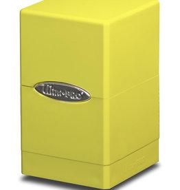 Ultra Pro Ultra Pro: Satin Tower Deck Box -  Yellow