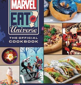 Insight Editions Marvel Eat The Universe Official Cookbook HC