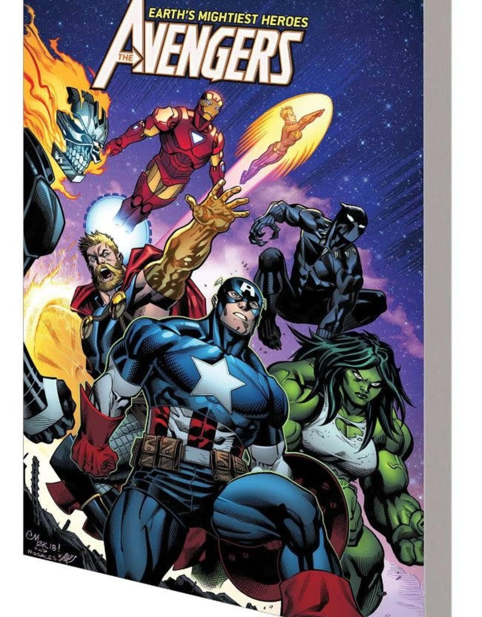 Marvel Comics Avengers Vol 02 World Tour