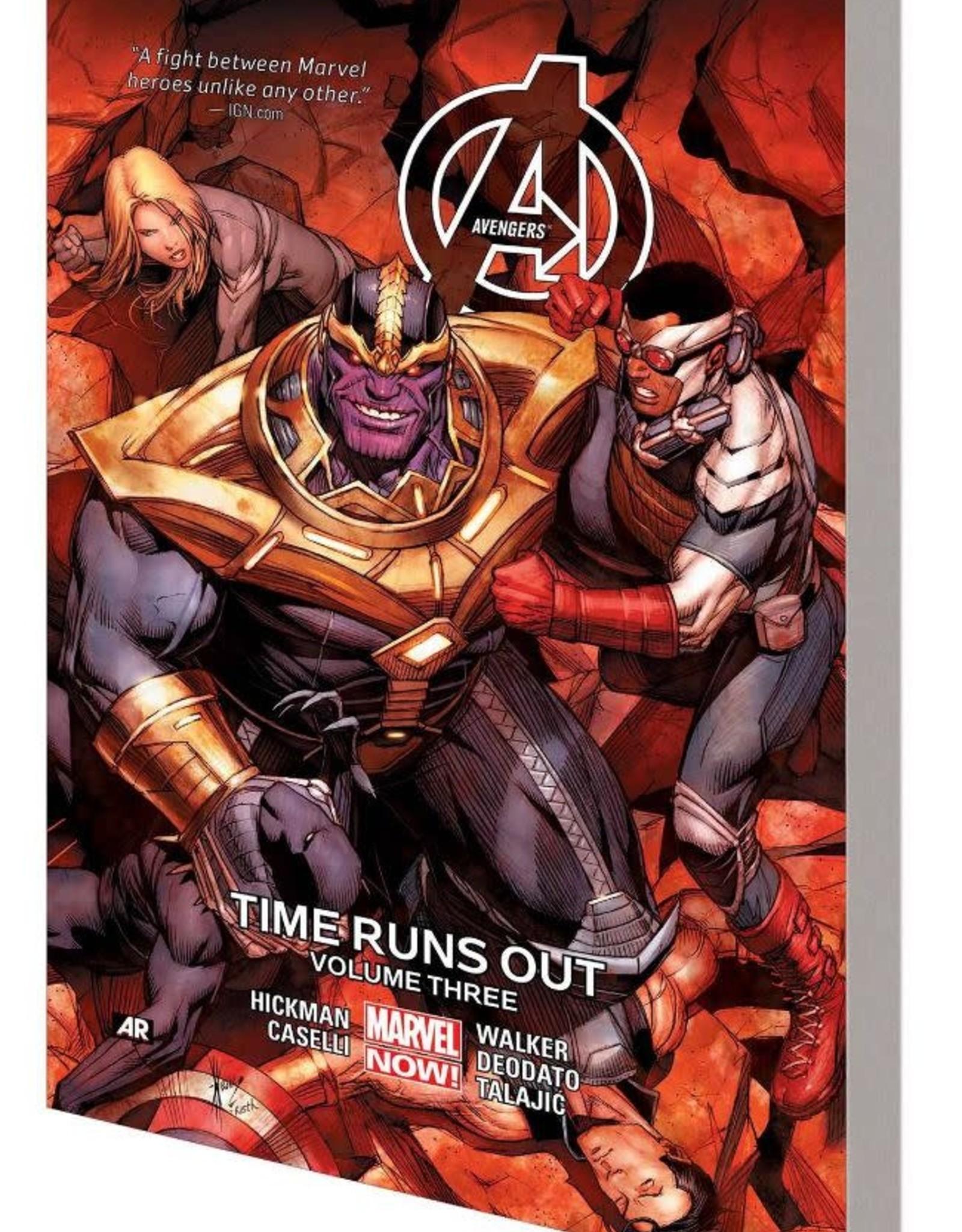 Marvel Comics Avengers Vol 03 Time Runs Out