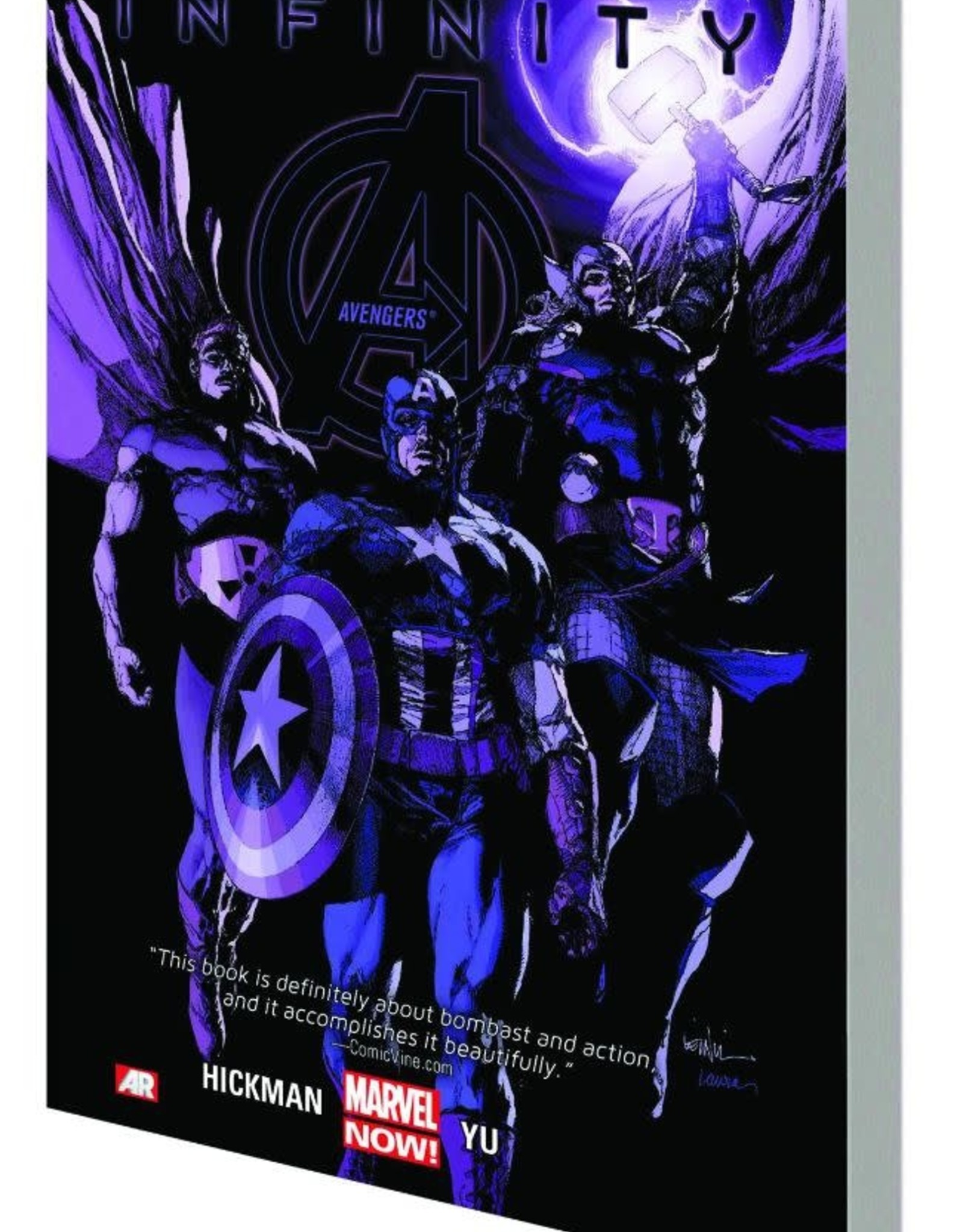 Marvel Comics Avengers Vol 04 Infinity