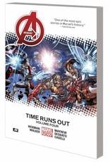 Marvel Comics Avengers Vol 04 Time Runs Out