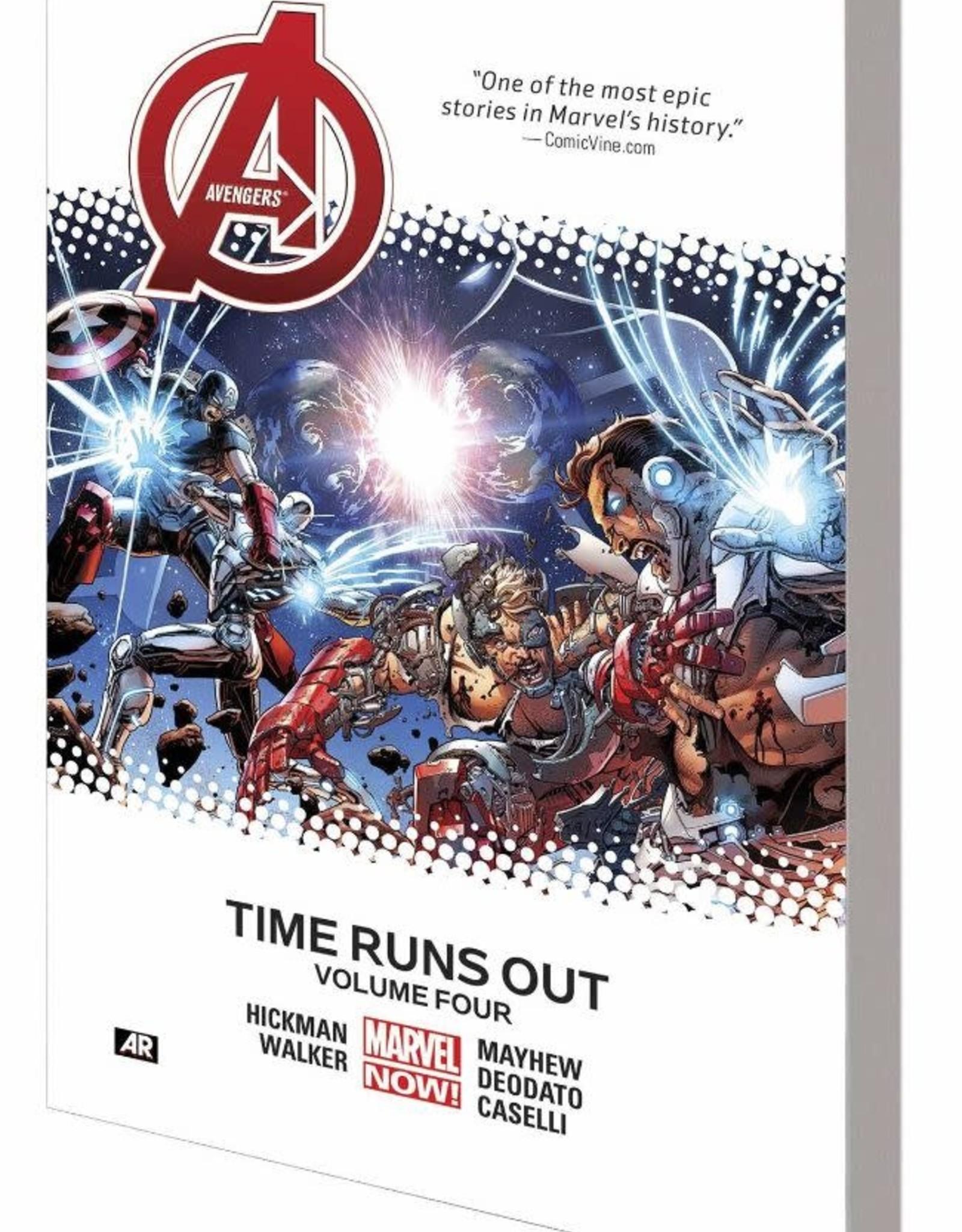 Marvel Comics Avengers Time Runs Out Vol 04 TP