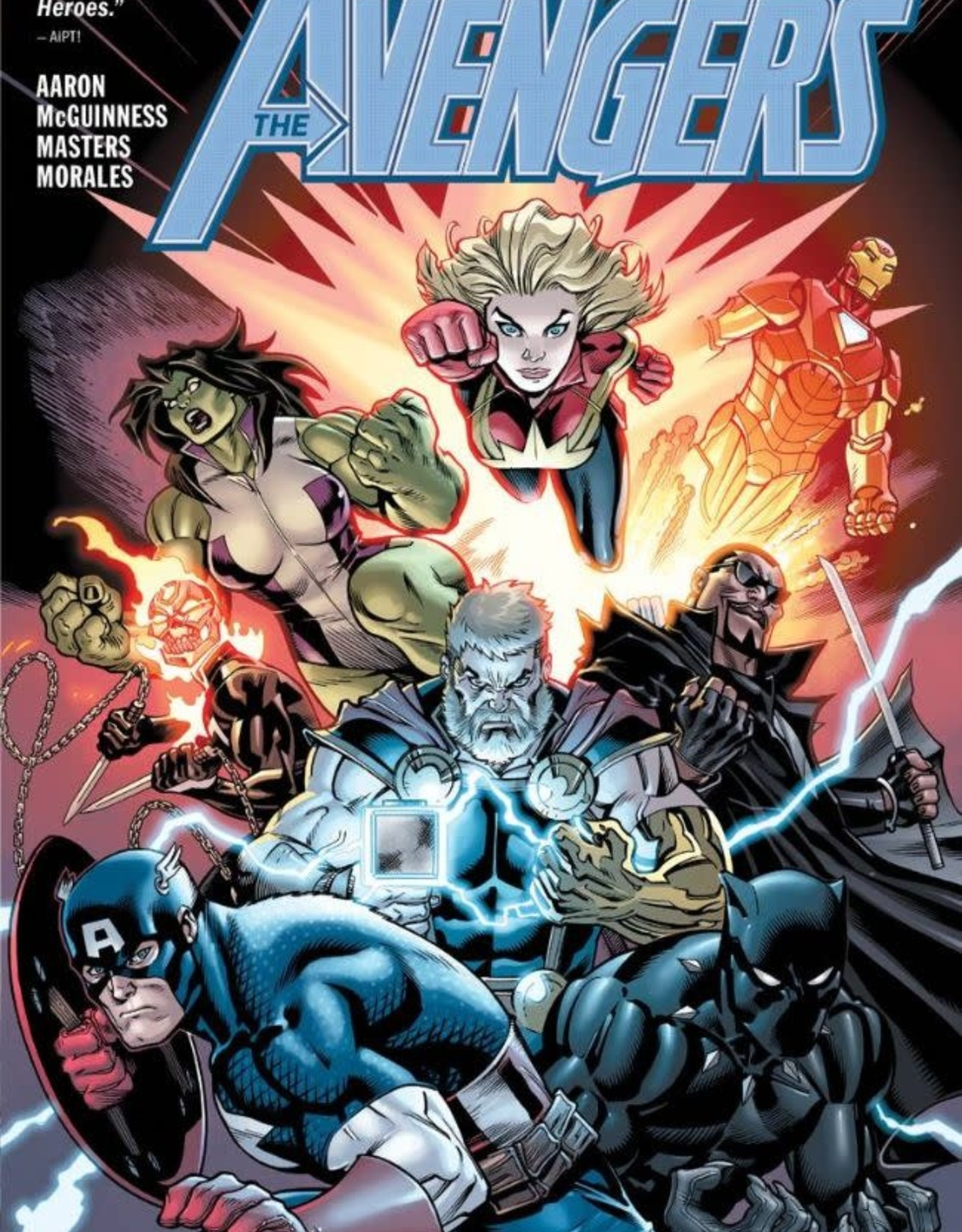 Marvel Comics Avengers Vol 04 War of the Realms