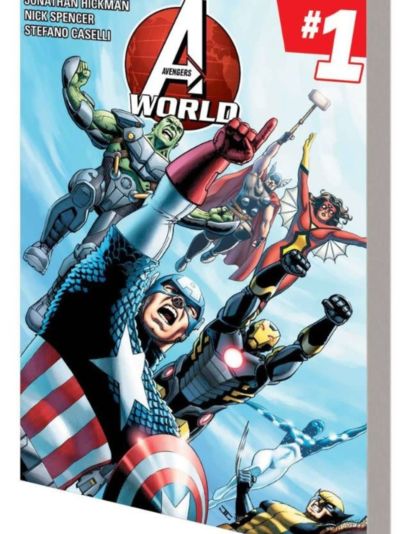 Marvel Comics Avengers World Vol 01 A.I.M.Pire