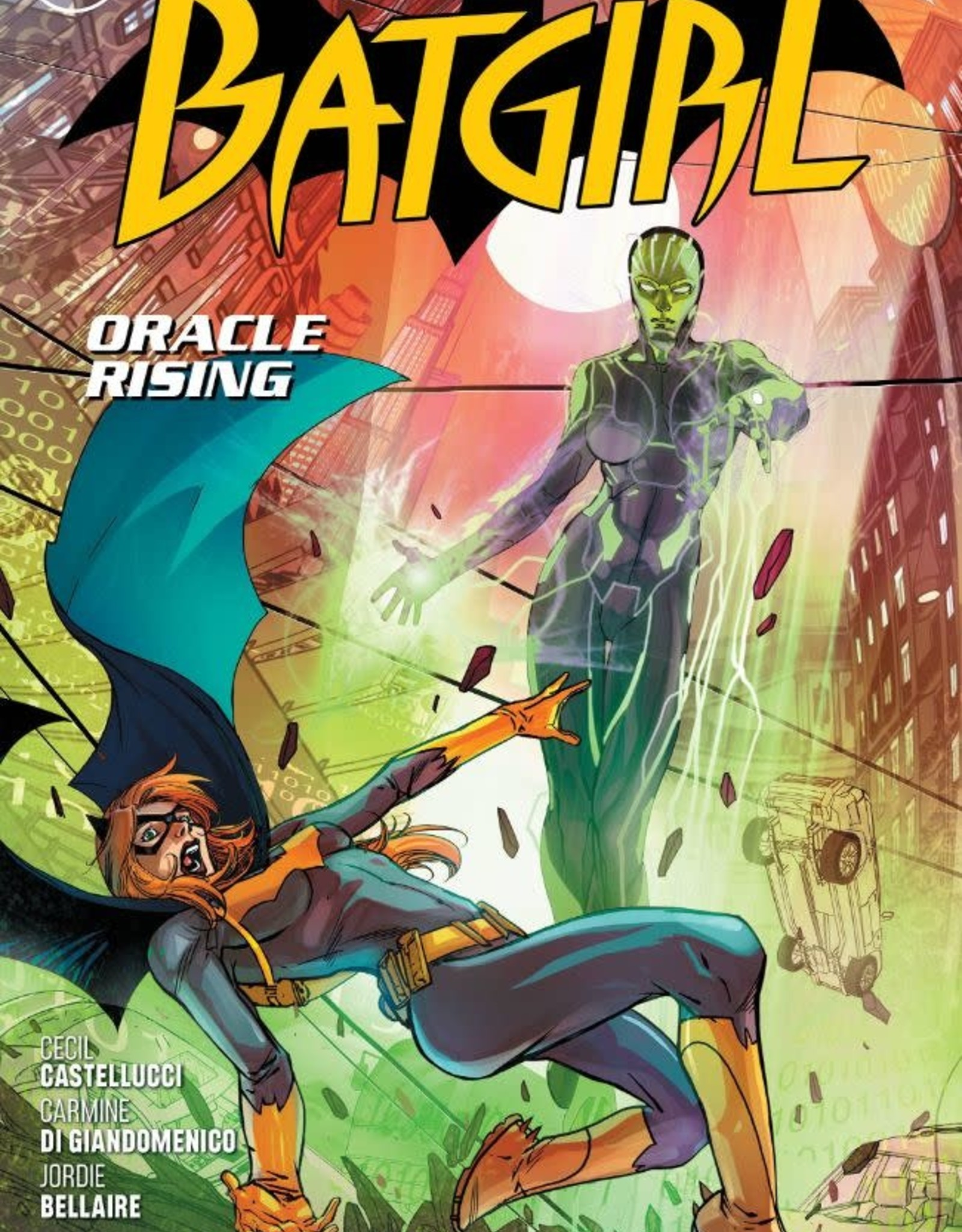 DC Comics Batgirl Oracle Rising