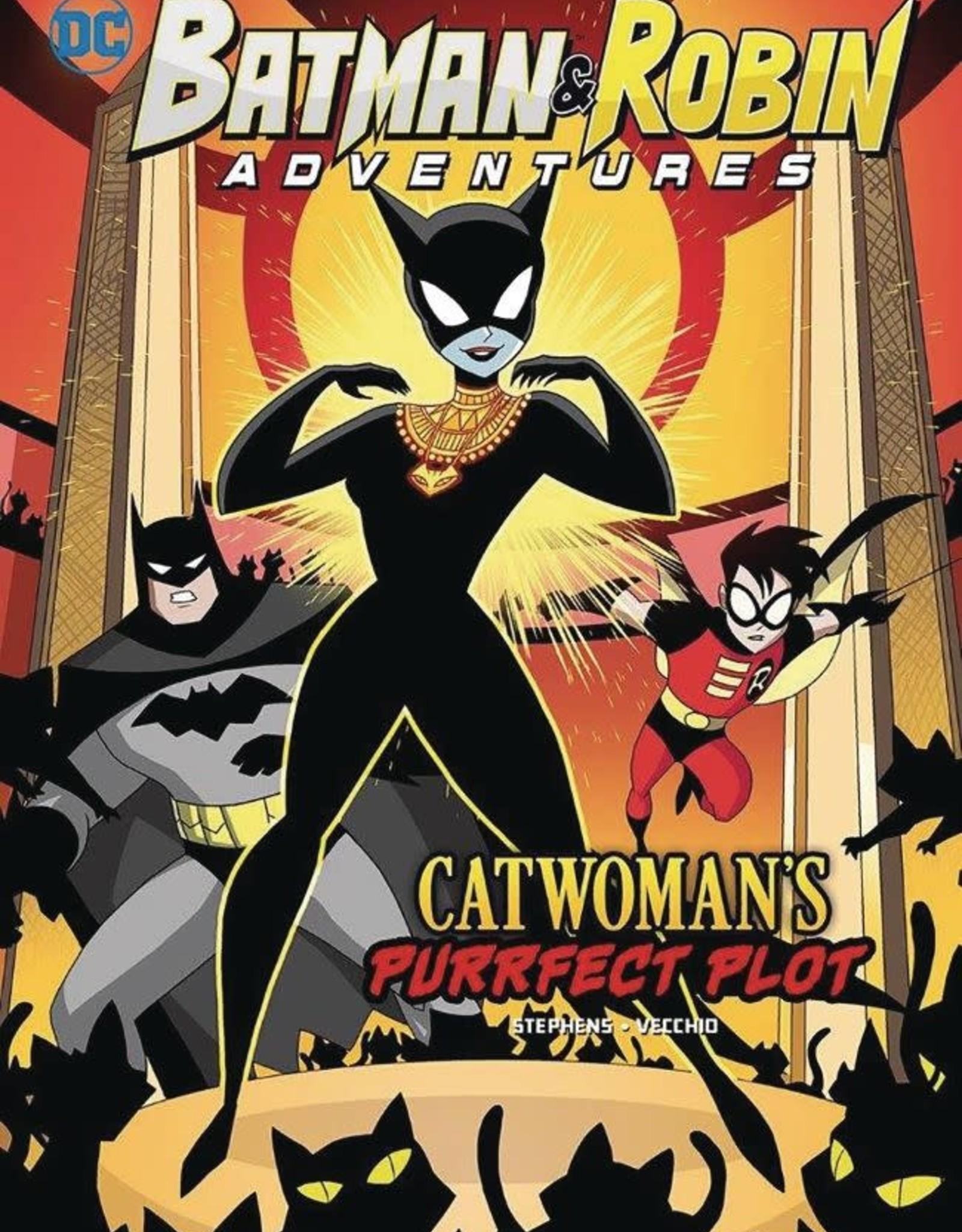 Stone Arch Books Batman & Robin Adventures Catwoman's Purrfect Plot