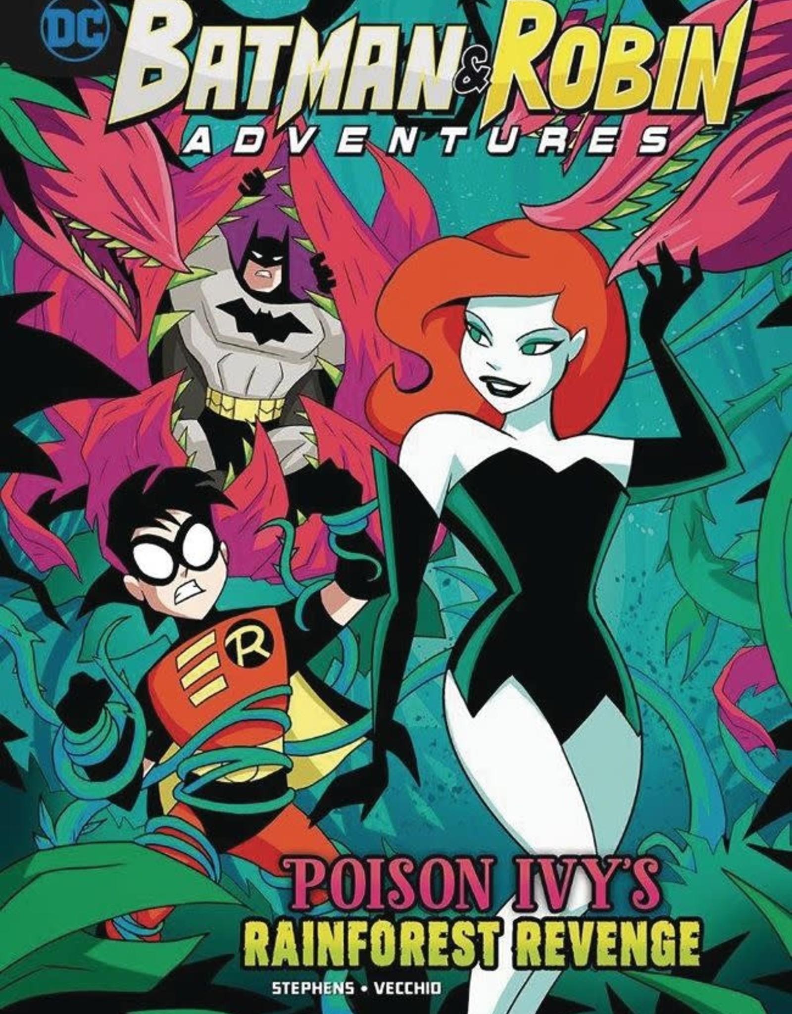 Stone Arch Books Batman & Robin Adventures Poison Ivy's Rainforest Revenge
