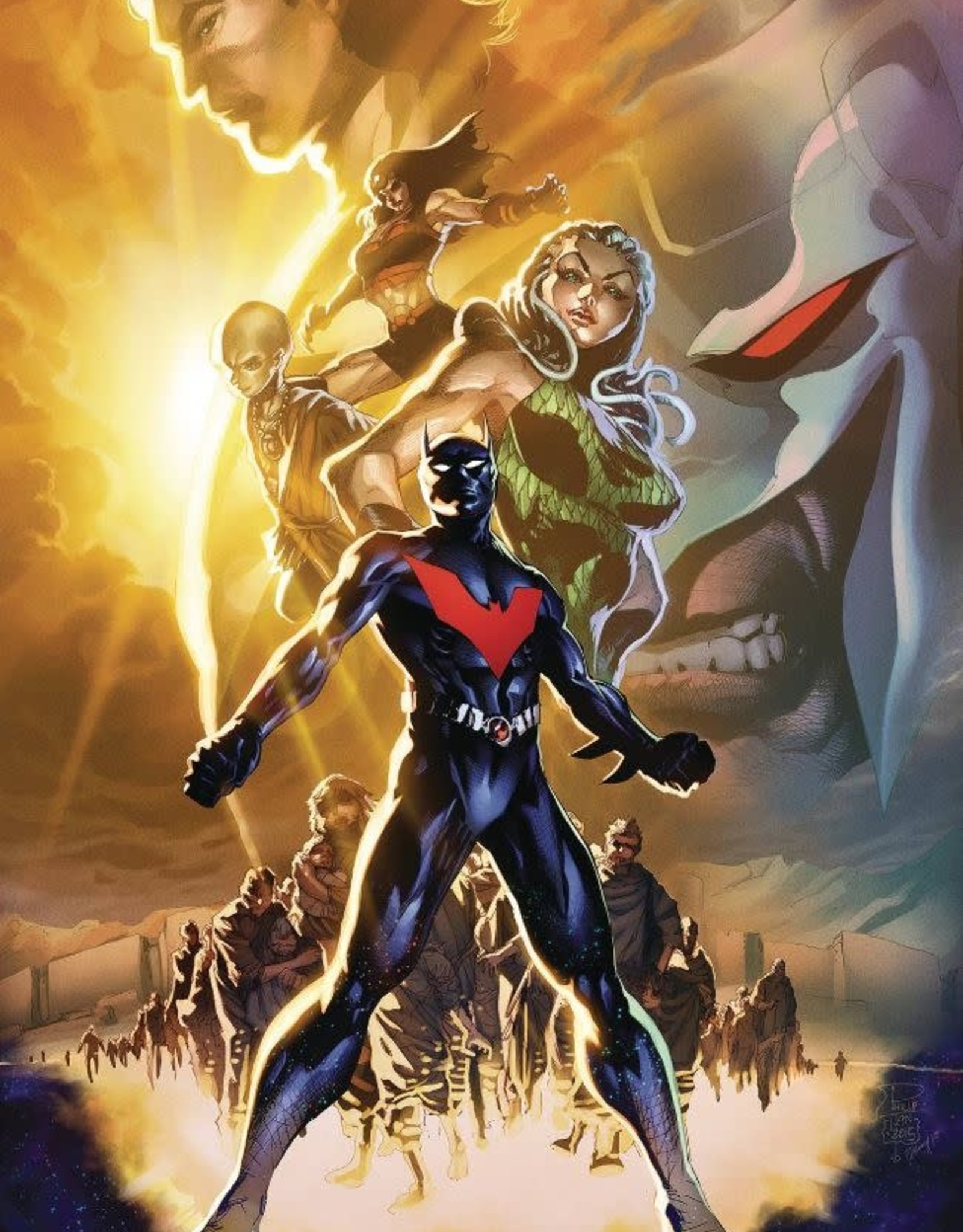 DC Comics Batman Beyond Vol 02 City of Yesterday