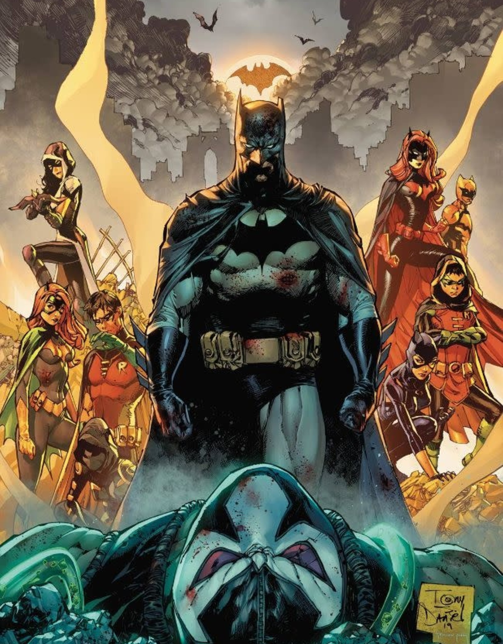 DC Comics Batman: City of Bane Part 2 HC