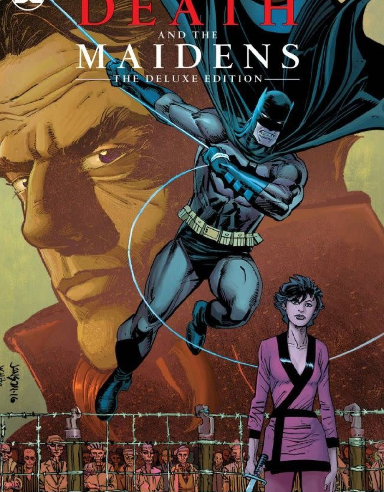 DC Comics Batman Death and the Maidens Deluxe Edition HC