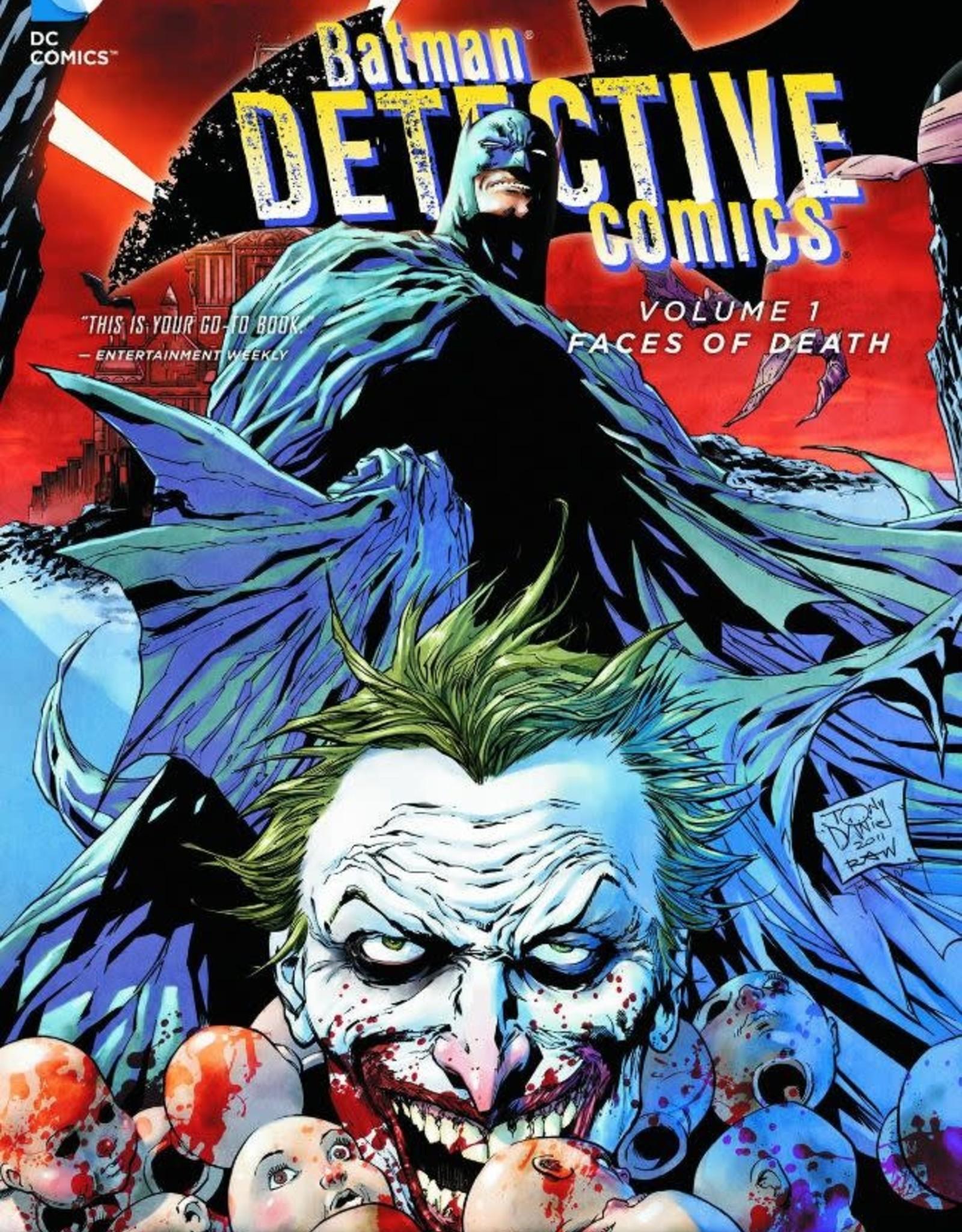 DC Comics Batman Detective Comics Vol 01 Faces of Death