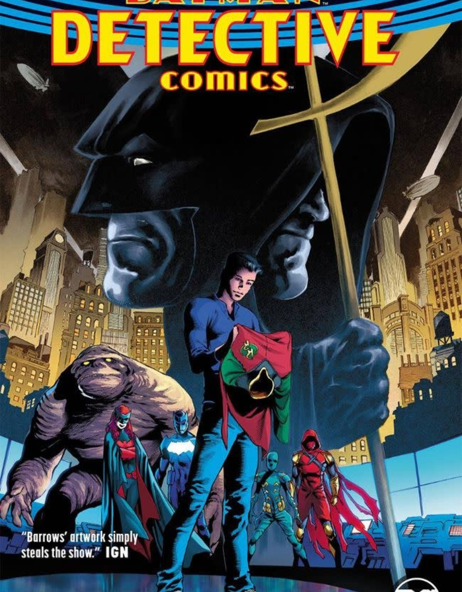 DC Comics Batman Detective Comics Vol 05 A Lonely Place of Living