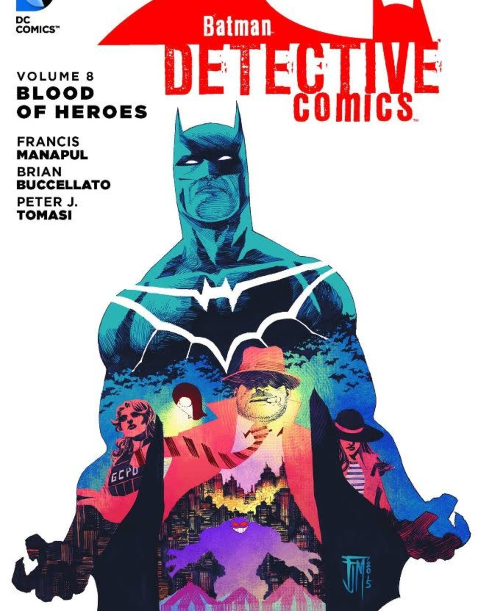 DC Comics Batman Detective Comics Vol 08: Blood of Heroes TP