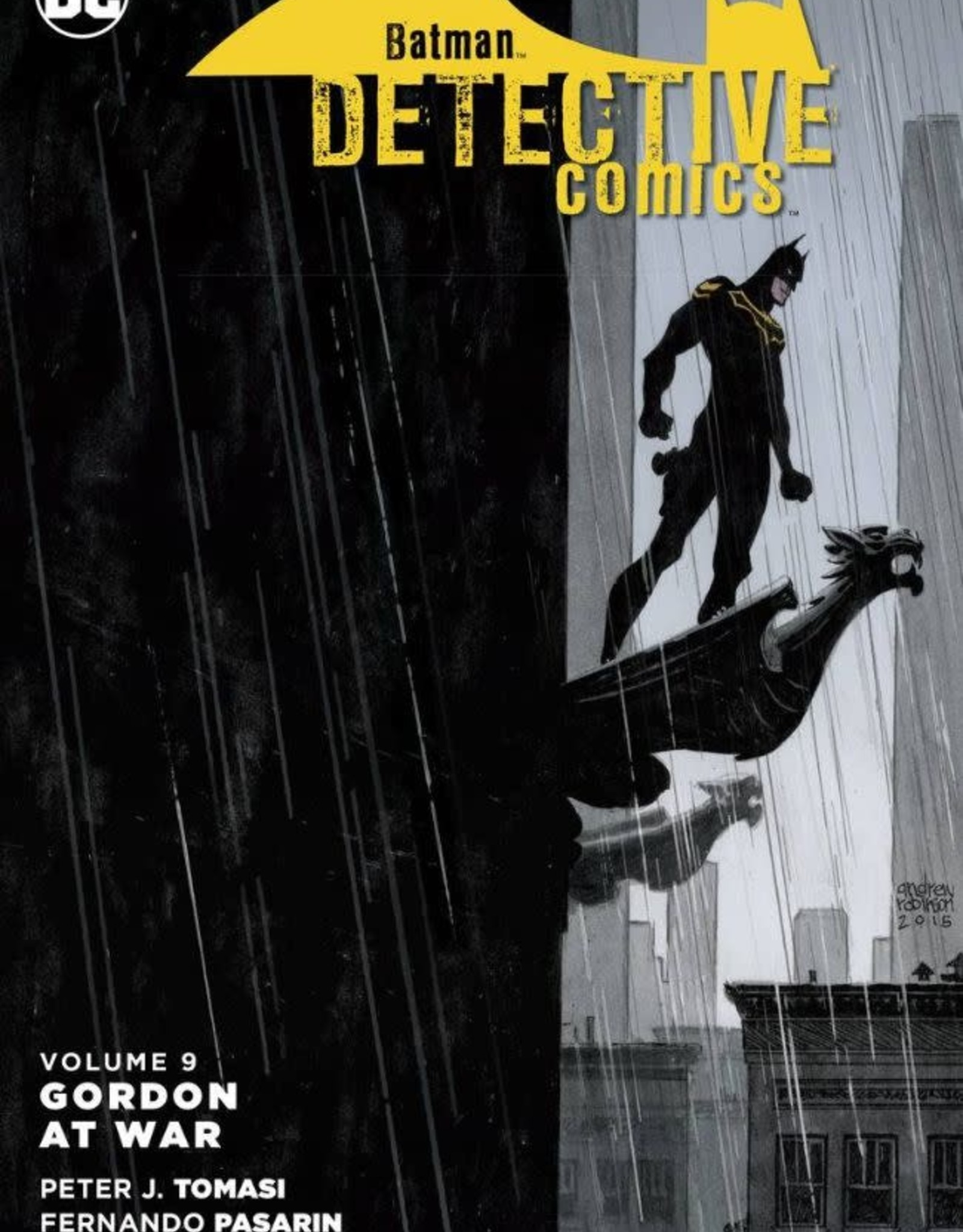 DC Comics Batman Detective Comics Vol 09 Gordon at War