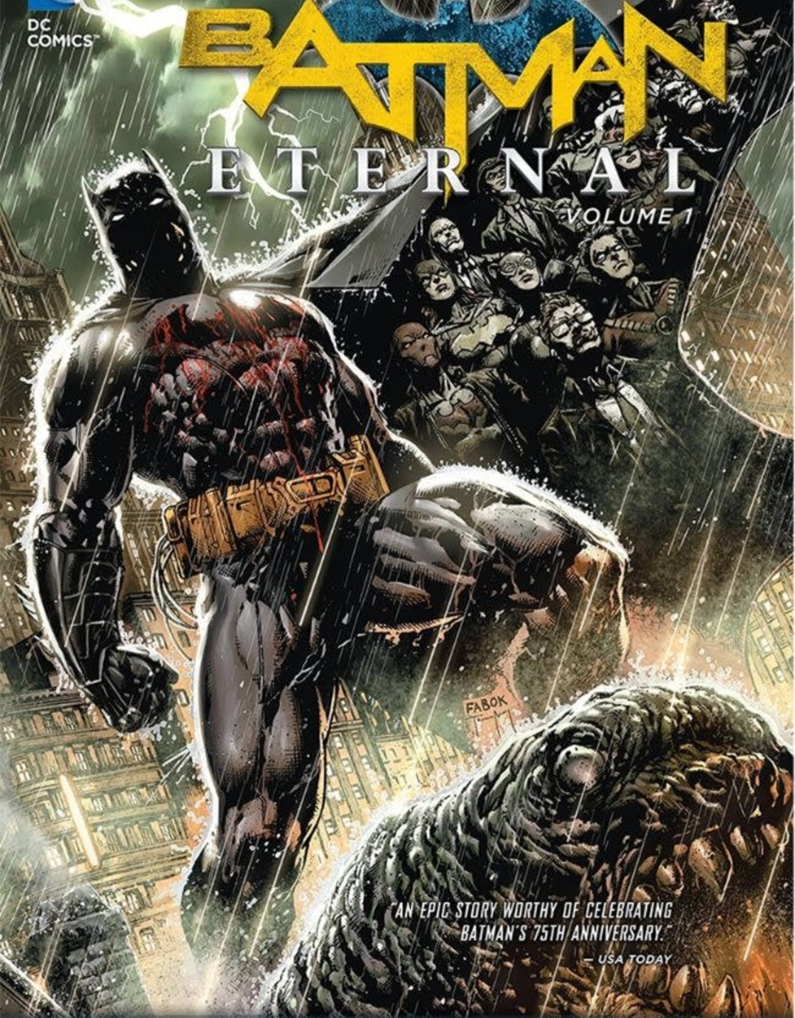 DC Comics Batman Eternal TP Vol 01
