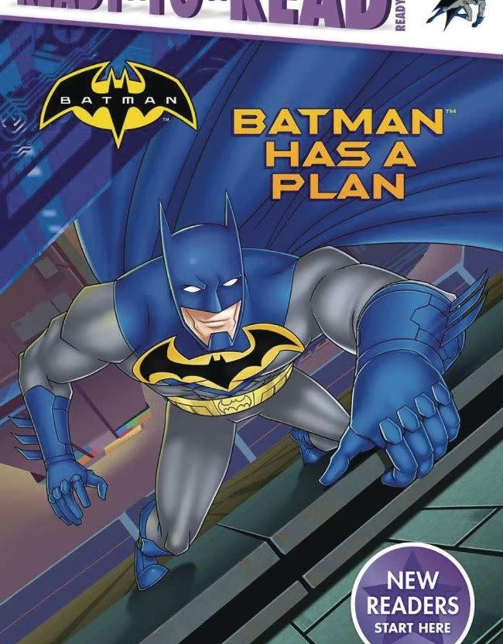 Simon Spotlight Batman Has a Plan Ready to Read YR GN
