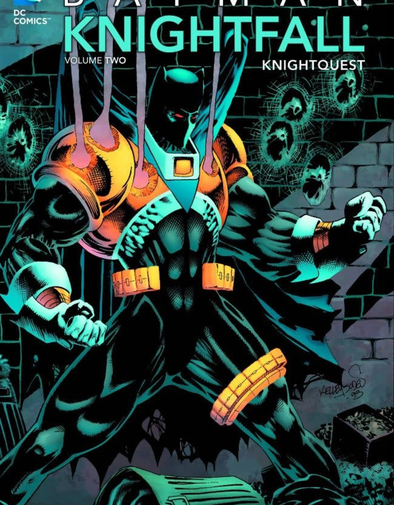 DC Comics Batman Knightfall TP New Ed Vol 02 Knightquest