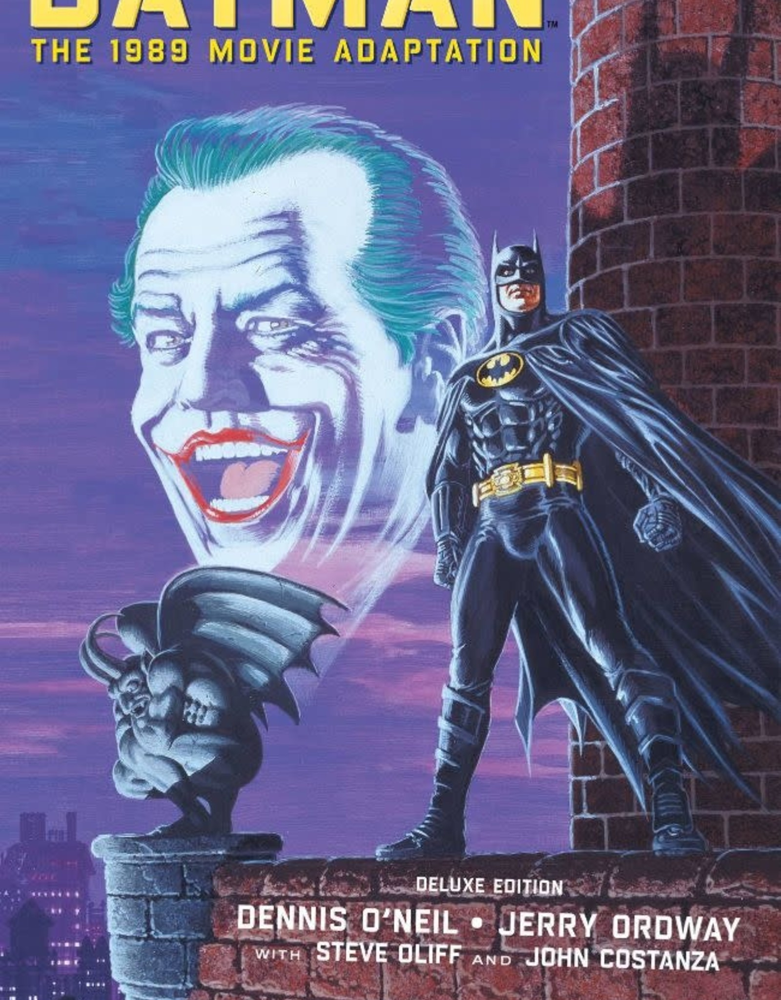 DC Comics Batman The 1989 Movie Adaptation Deluxe Edition HC
