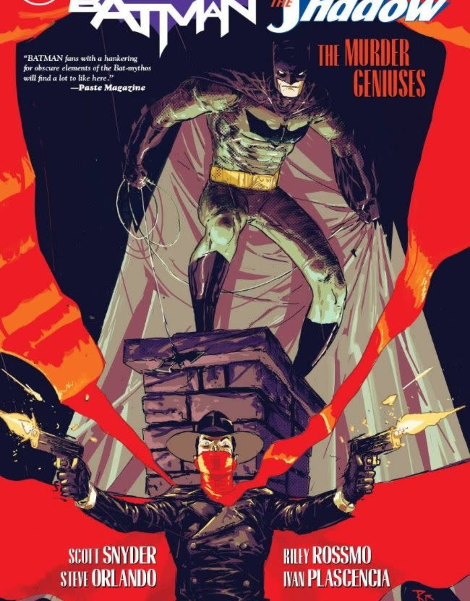 DC Comics Batman/The Shadow: The Murder Geniuses TP