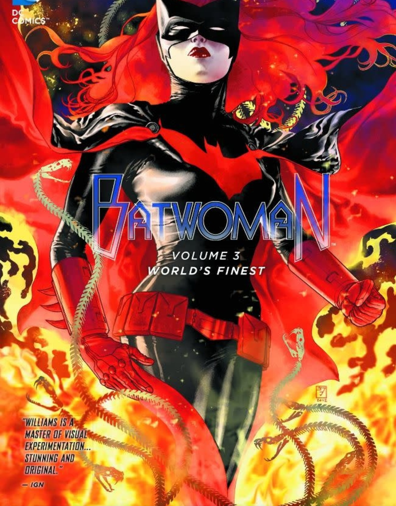 DC Comics Batwoman Vol 03 World's Finest