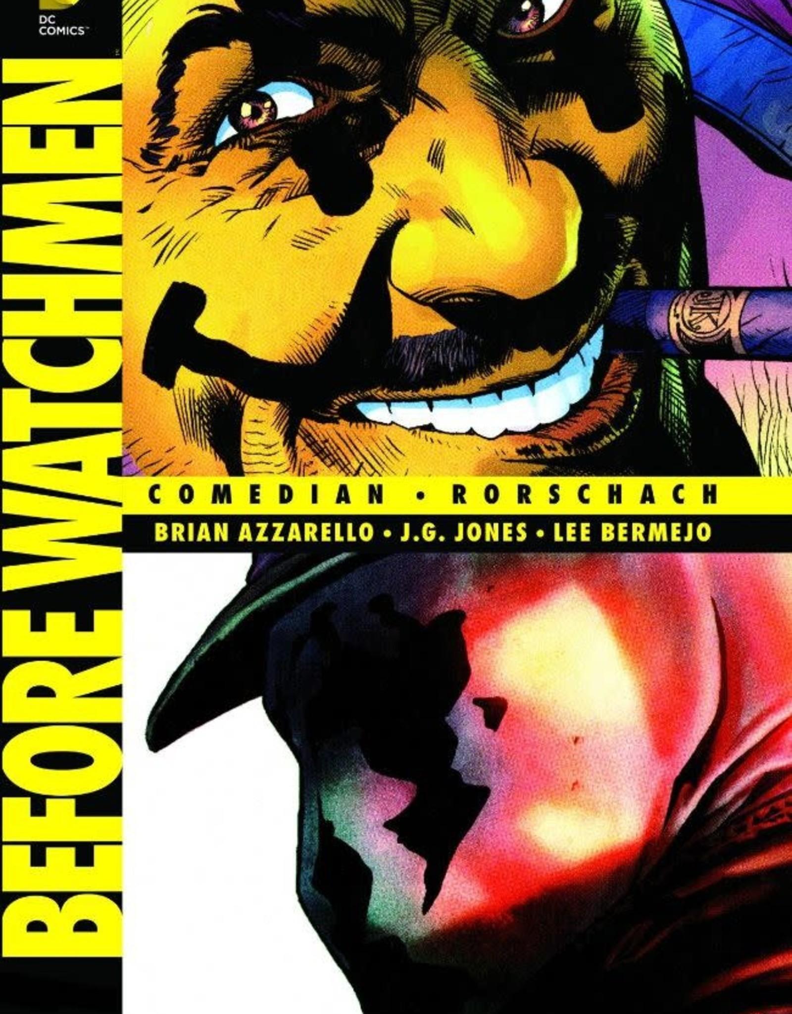 DC Comics Before Watchmen Comedian-Rorschach