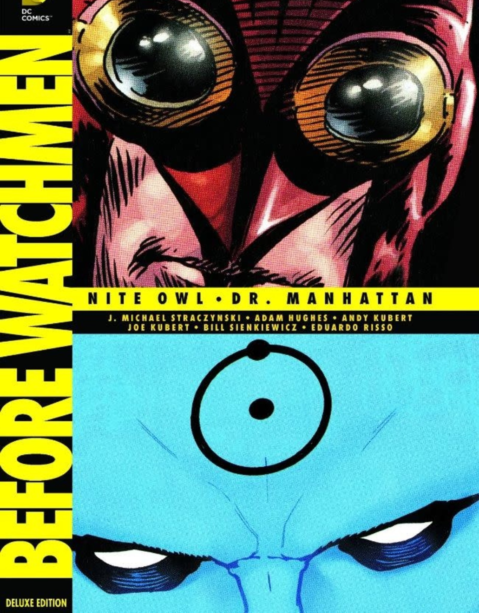DC Comics Before Watchmen Nite Owl-Dr. Manhattan
