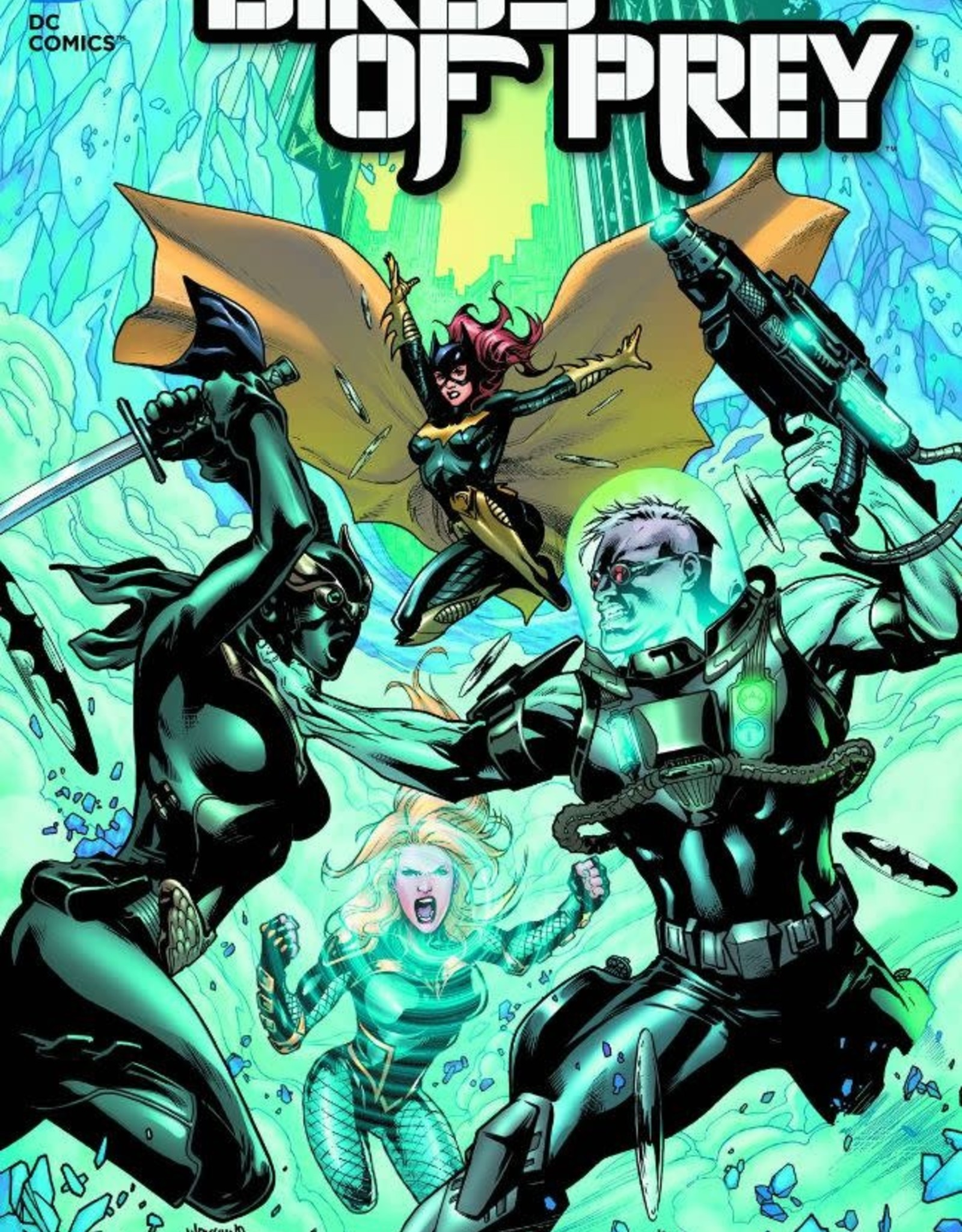 DC Comics Birds of Prey Vol 04 The Cruelest Cut
