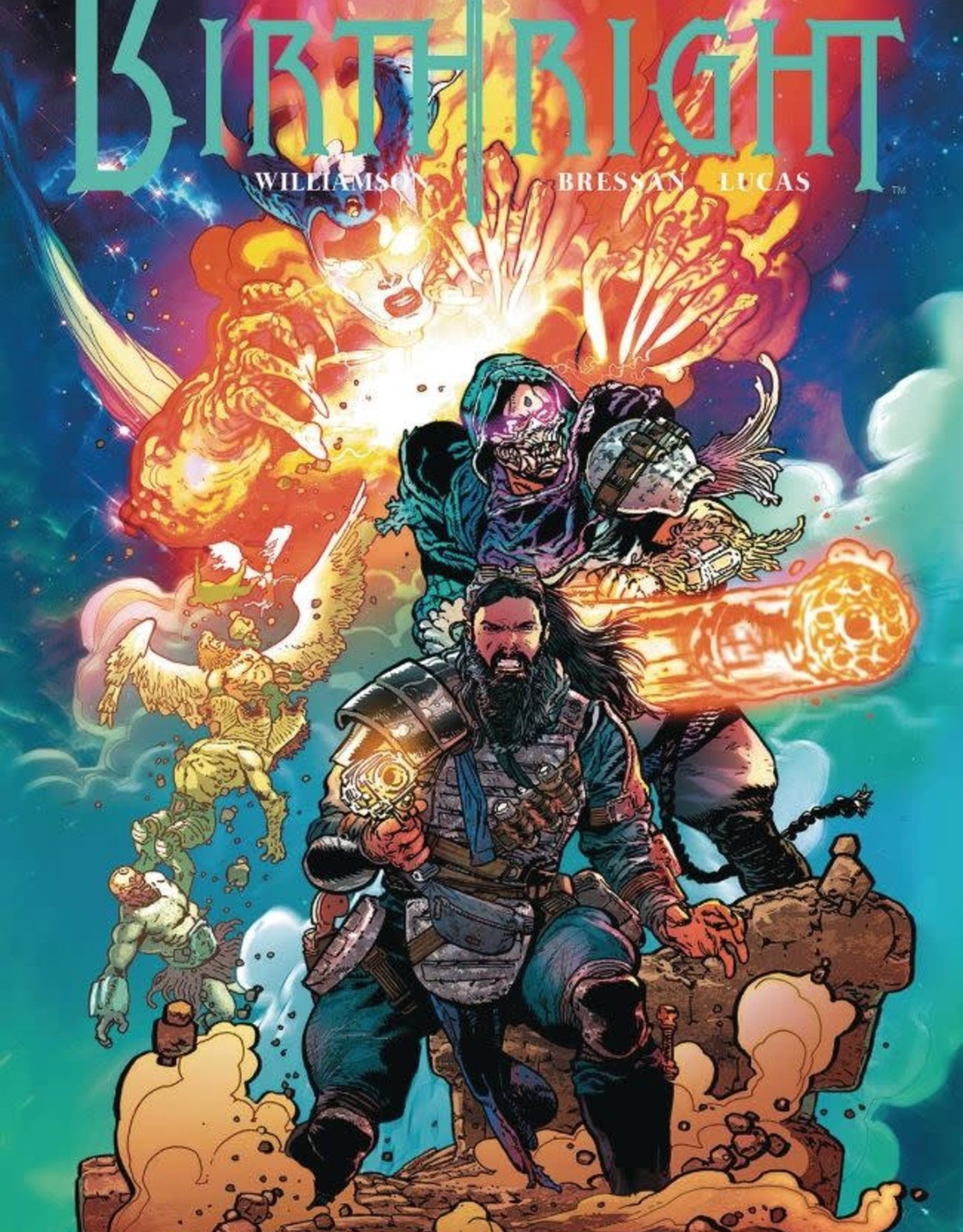 Image Comics Birthright Vol 08: Live by the Sword TP
