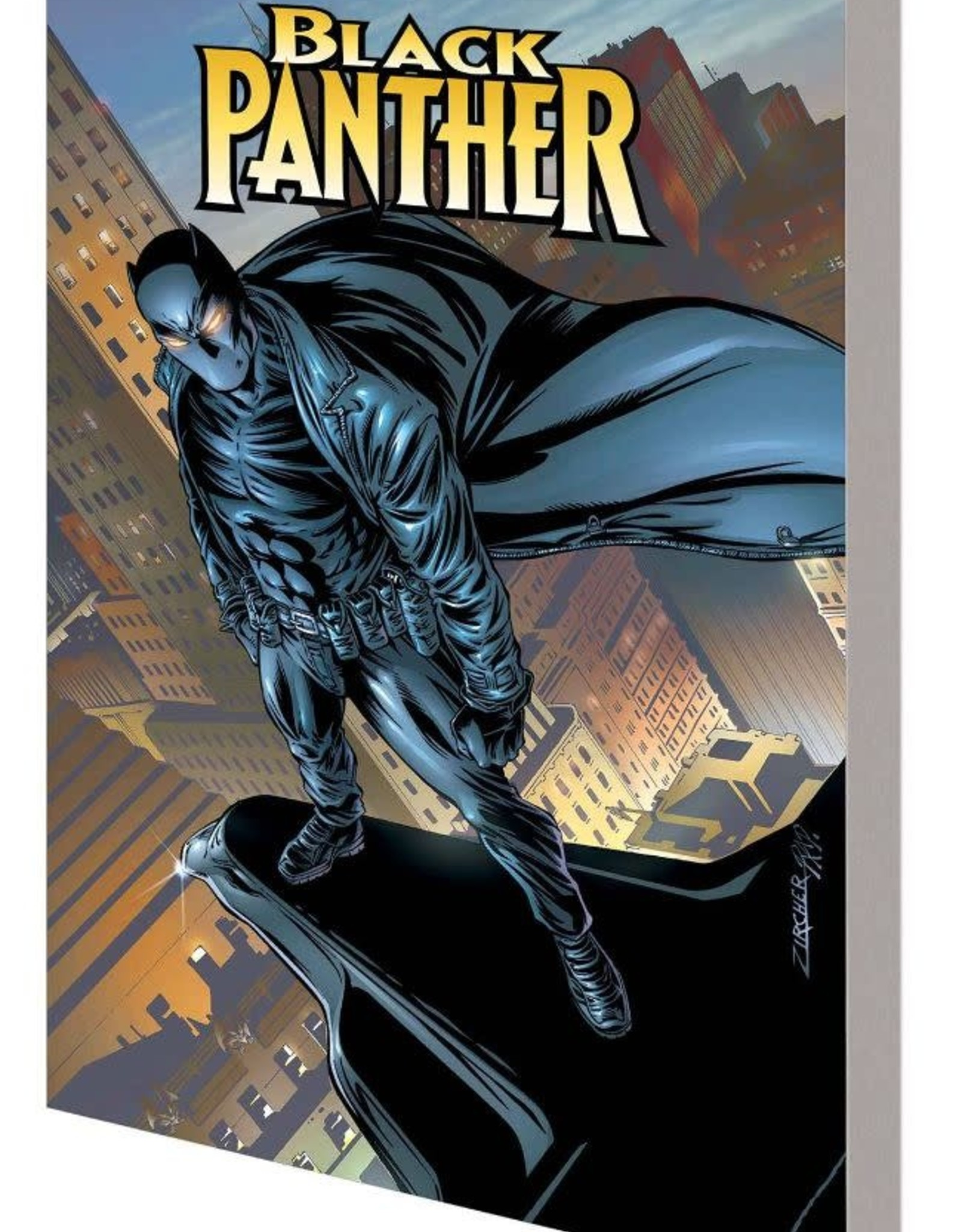 Marvel Comics Black Panther Complete Collection by Christopher Priest Vol 04