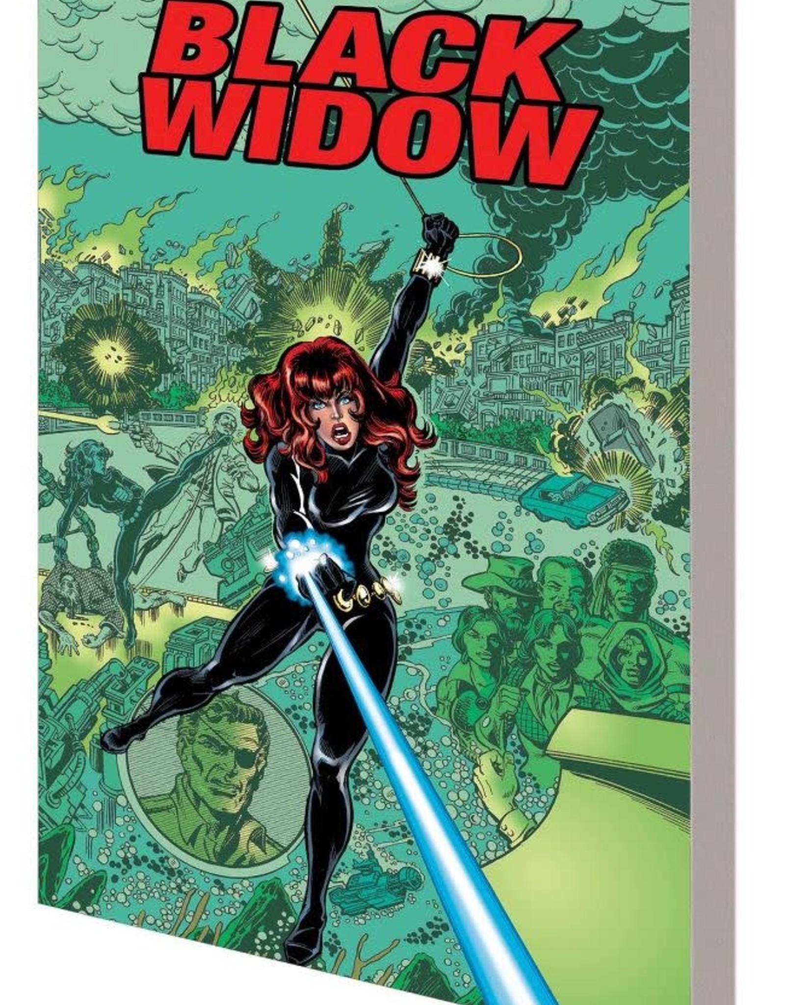 Marvel Comics Black Widow: Web of Intrigue TP