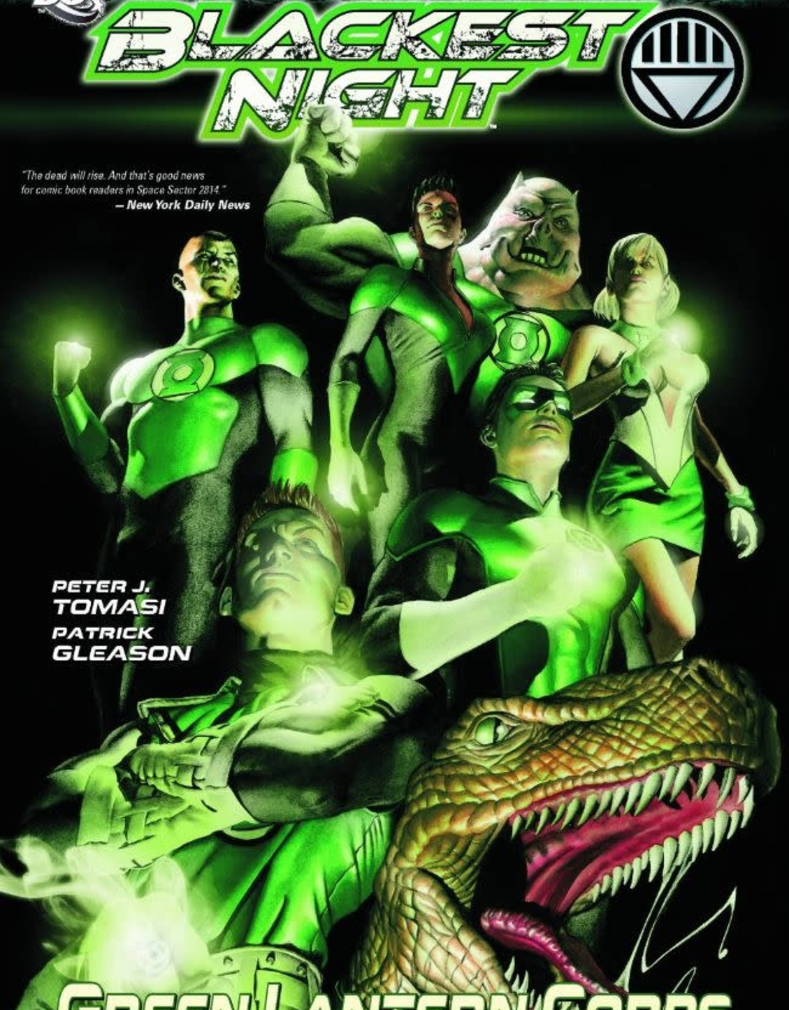 DC Comics Blackest Night: Green Lantern Corps TP