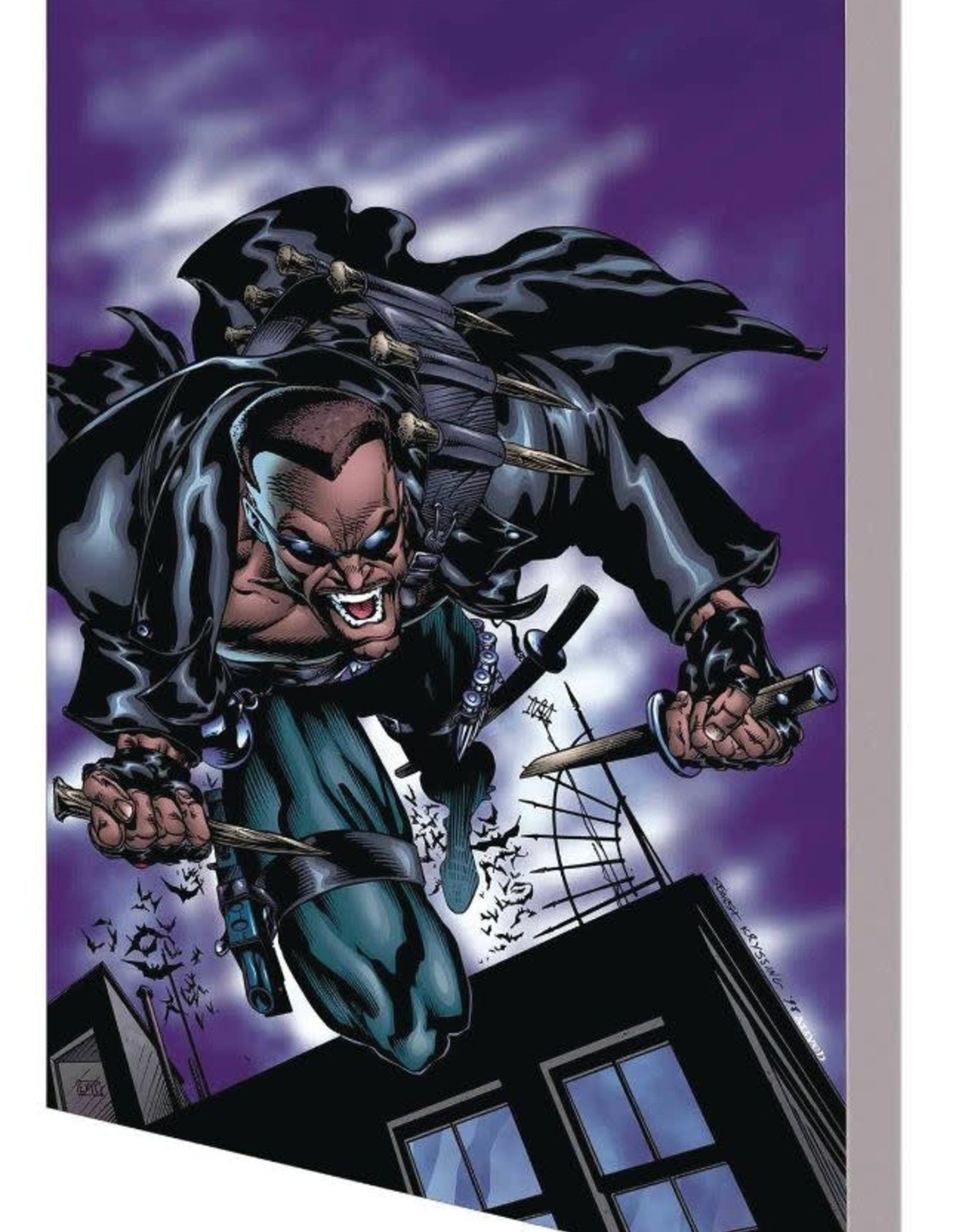 Marvel Comics Blade: Blood and Chaos TP
