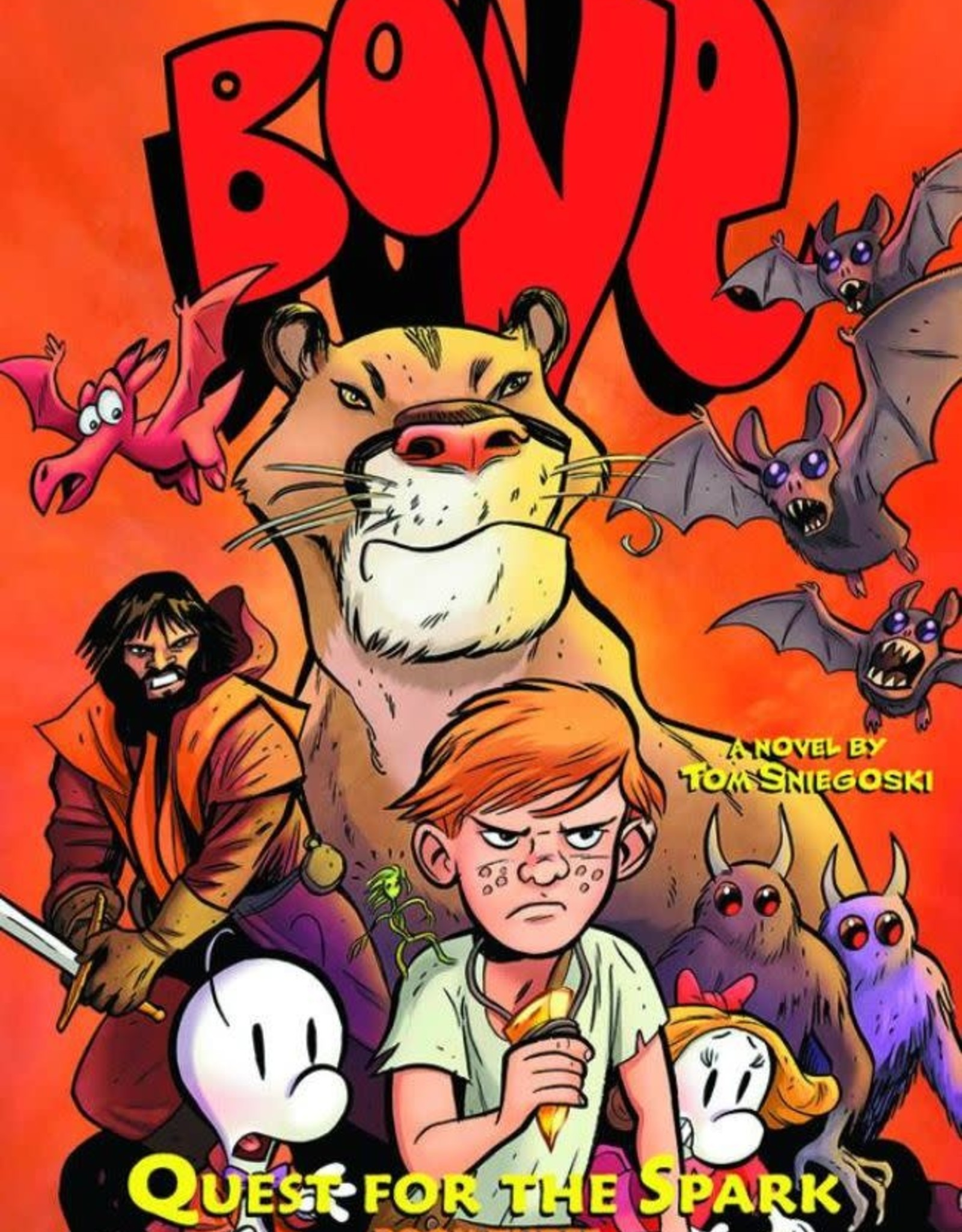 Graphix Bone: Quest For Spark Book 03 YR Novel