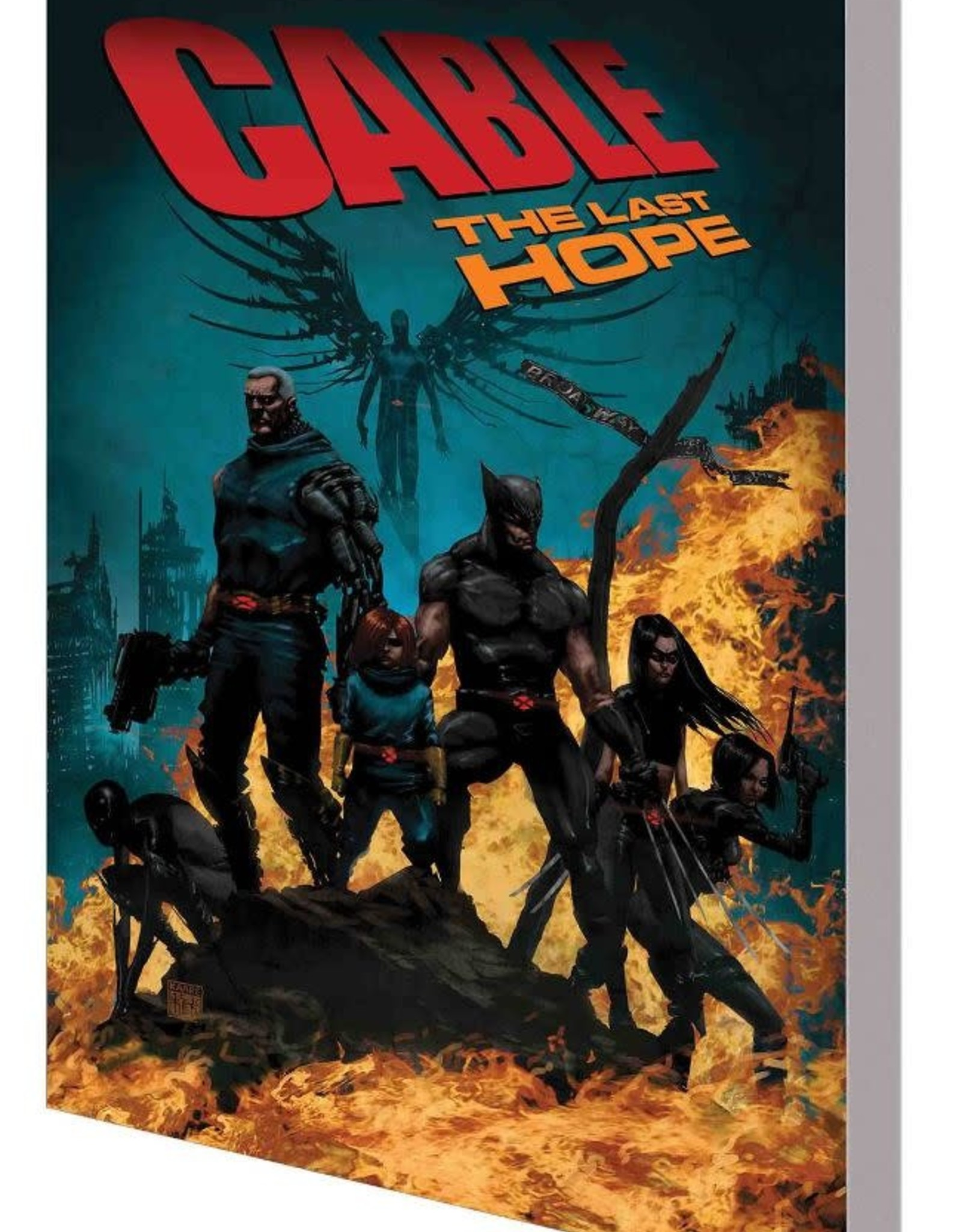 Marvel Comics Cable Vol 02 The Last Hope