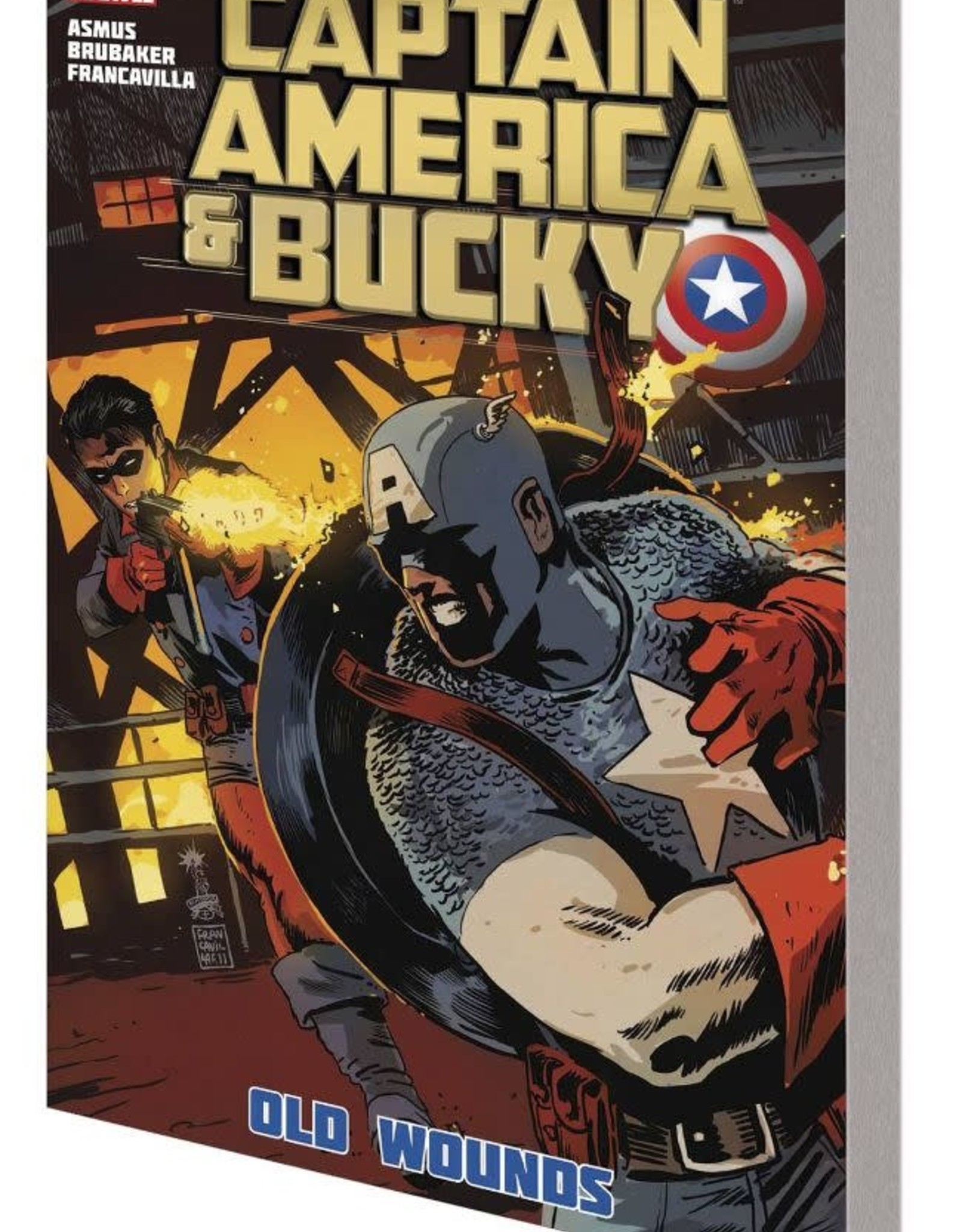 Marvel Comics Captain America & Bucky: Old Wounds TP