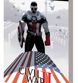 Marvel Comics Captain America Sam Wilson Vol 03 Civil War II